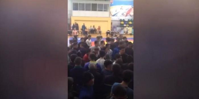 В Дагестане подрались зрители бойцовского турнира