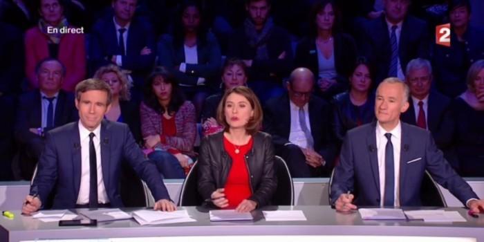 Министр обороны Франции уснул на дебатах кандидатов в президенты