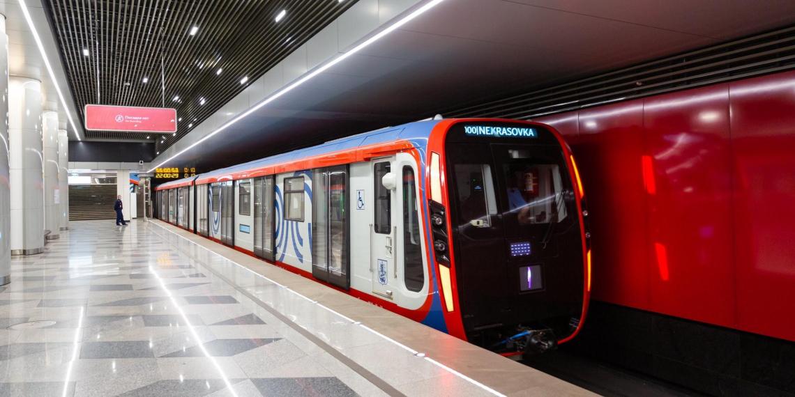 """Поезда метро нового поколения """"Москва-2020"""" представили в столице"""