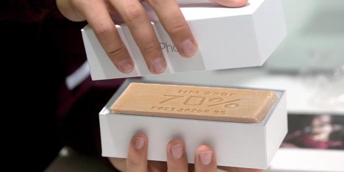 Житель Петрозаводска обменял мыло на iPhone 6s