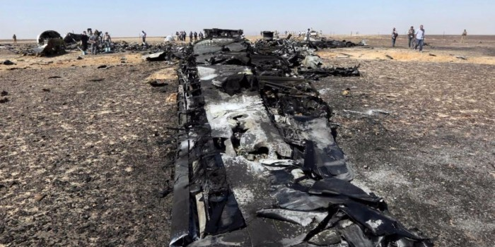 Бомба в A321 могла находиться под пассажирским сиденьем