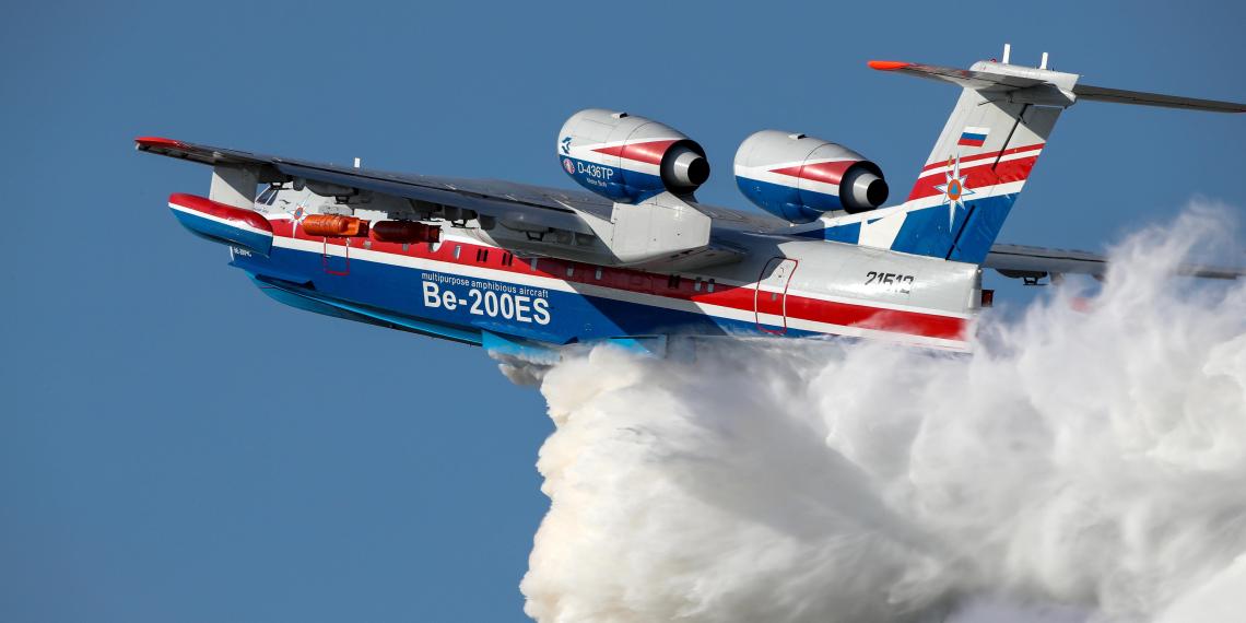 В Турции потребовали объяснений от тушивших пожары российских пилотов