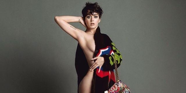 Кэти Перри обнажилась для рекламы Moschino