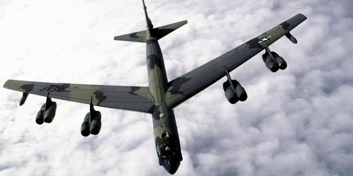 Американские бомбардировщики B-52 приблизились к российским базам в Арктике