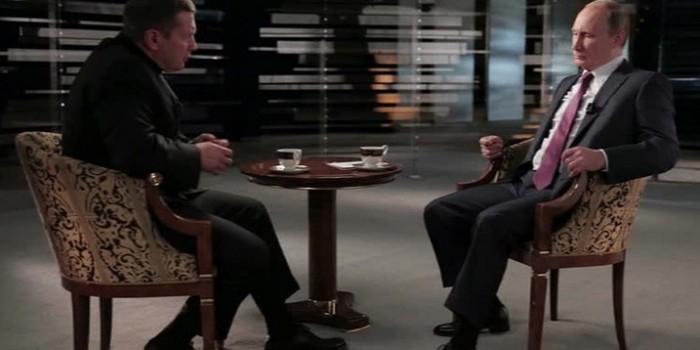 Путин рассказал Соловьеву о своем понимании миропорядка