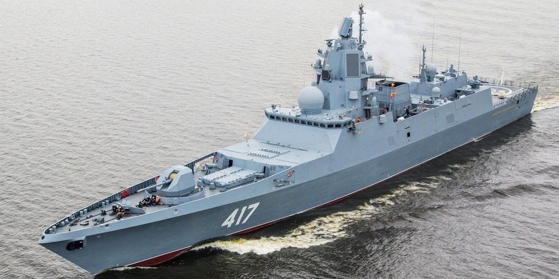Новые российские фрегаты будут нести в полтора раза больше ракет на борту