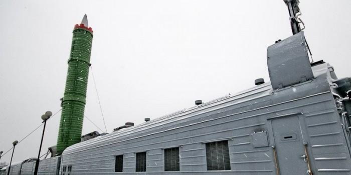 """В России успешно испытали ракету для """"ядерного поезда"""""""