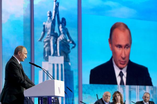 Путин: Мы не позволим подчинить нас США