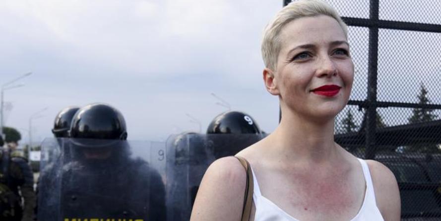 Против белорусской оппозиционерки Колесниковой завели дело о попытке захвата власти