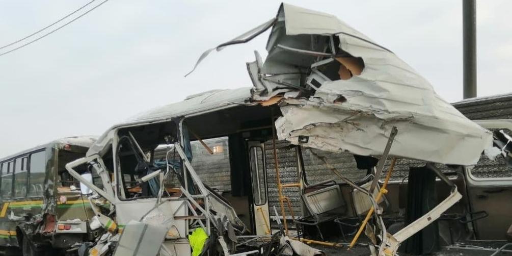 Под Москвой самосвал протаранил автоколонну военных, погибли 4 человека