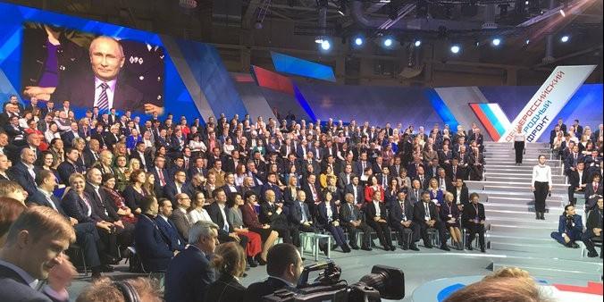 Путин поручил ОНФ ввести общественную экспертизу доступа инвалидов к госуслугам