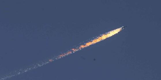Турция подтвердила уничтожение военного самолета