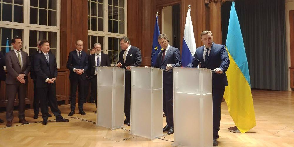 Россия и Украина достигли принципиального соглашения по газу