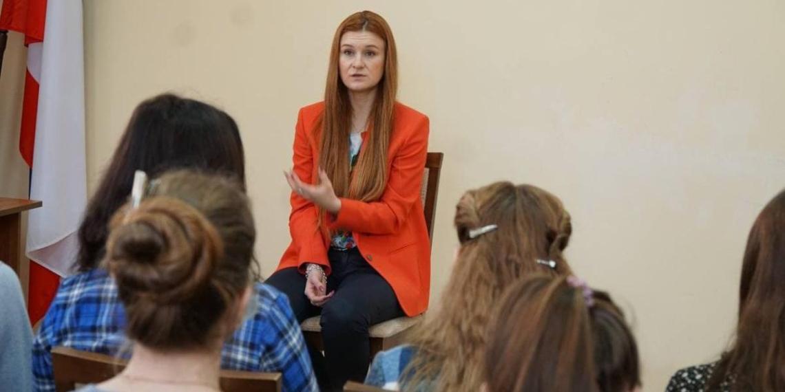 Мария Бутина рассказала о защите прав крымчан, которых преследует Украина