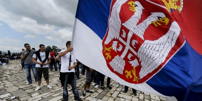 В Косово мужчину приговорили к тюрьме за сербский герб на куртке