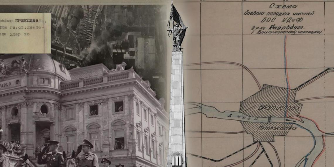 Минобороны рассекретило документы к 75-летию освобождения Братиславы