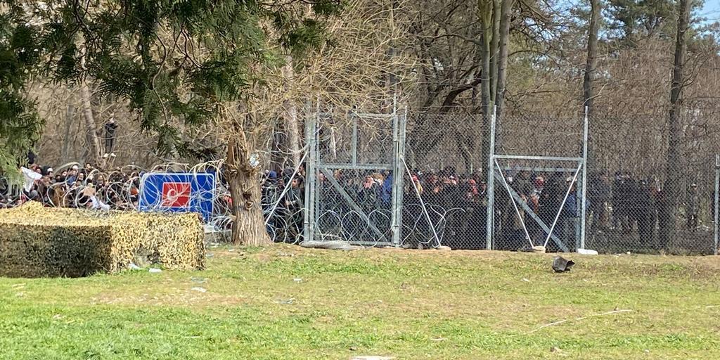Греция отгородится от Турции пятиметровым забором
