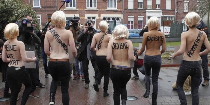 В Femen объявили о распаде движения