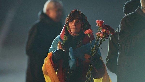 CNN: украинцы с грустью смотрят на страну через год после начала Майдана