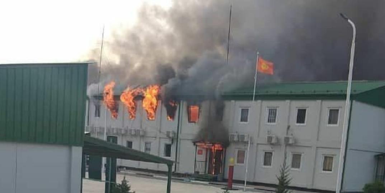 Спецназ погранслужбы Киргизии захватил заставу в Таджикистане