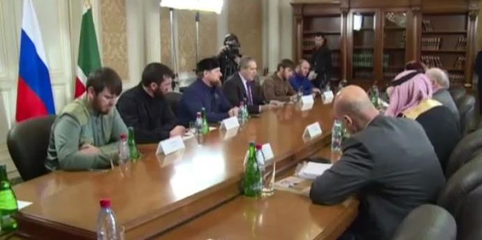 """Рамзан Кадыров встретился с """"сирийской оппозицией"""""""