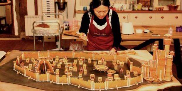 """Талантливый пекарь создала пряник в виде Королевской Гавани из """"Игры престолов"""""""