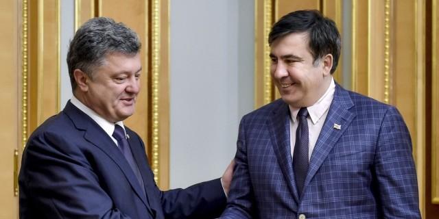 Саакашвили рассказал об угрозах Порошенко