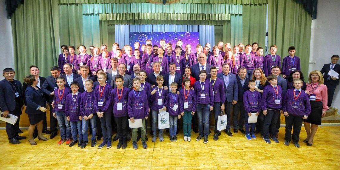 В Уфе наградили победителей Олимпиады Кружкового движения НТИ.Junior