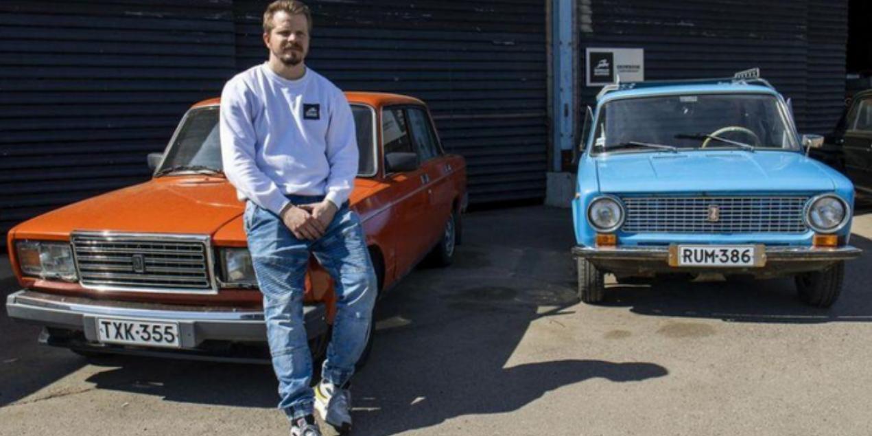 В Финляндии экс-чиновник построил бизнес на советских Жигулях