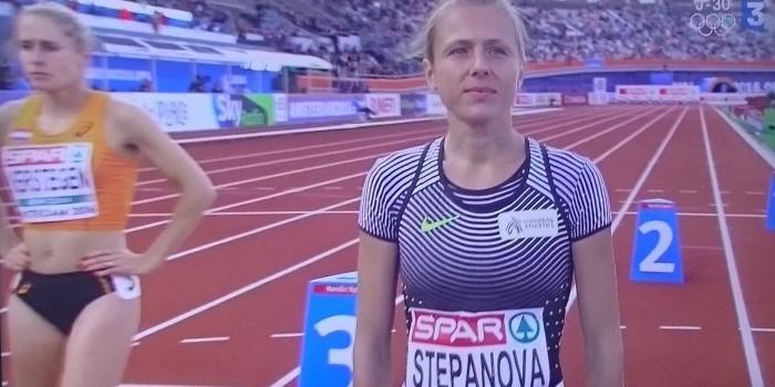 Информатор ВАДА Степанова не смогла добежать до финиша на ЧЕ