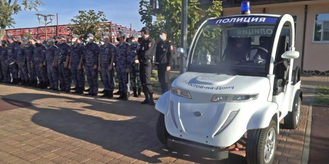 Российские полицейские пересаживаются на электромобили