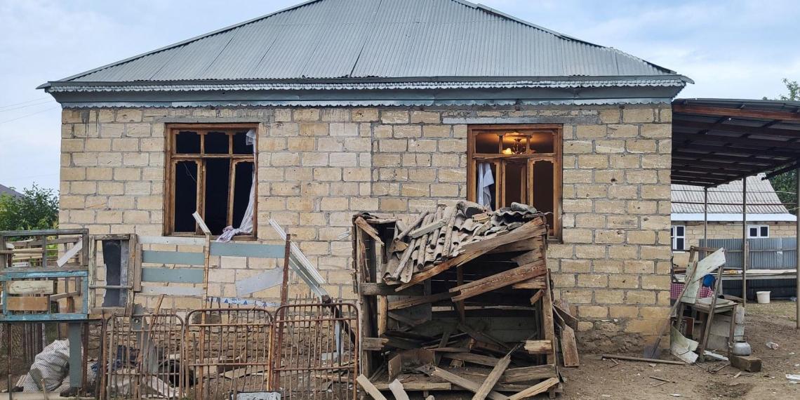 Армению обвинили в обстреле азербайджанских сел