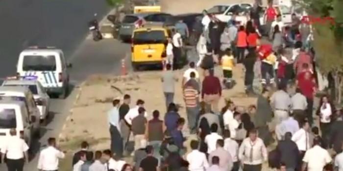 В результате взрыва в Анталье есть пострадавшие