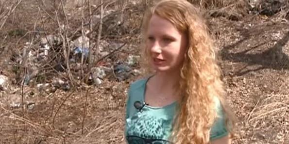 Под Красноярском немка 2 года убирает мусор за местными жителями