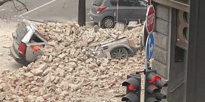В Хорватии прошло сильнейшее за 140 лет землетрясение
