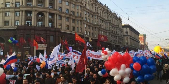 Мэрия Москвы одобрила заявку на проведение шествия в День народного единства