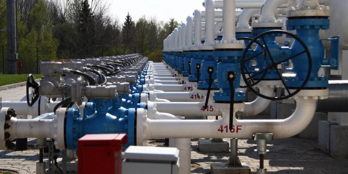 Газ из хранилищ Украины оказался в залоге у российского фонда
