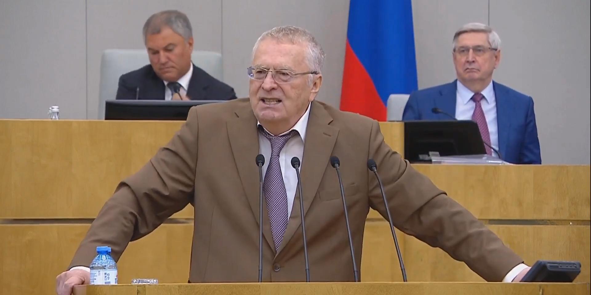 """""""Северные потоки закрыть"""": Жириновский назвал незавершенную газификацию издевательством над русскими"""