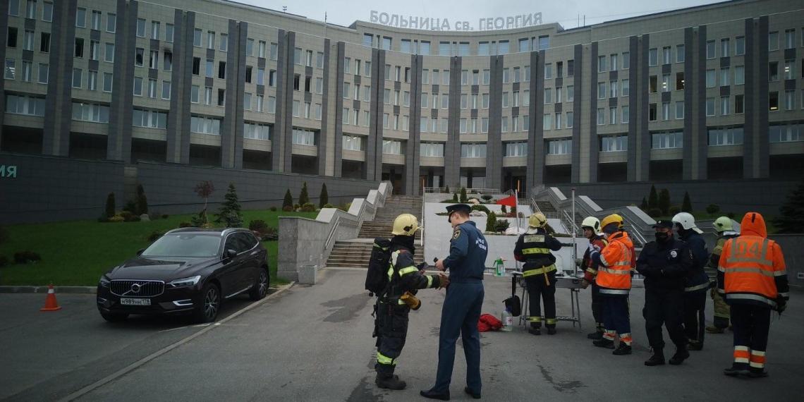При пожаре в больнице Петербурга погибли пять человек