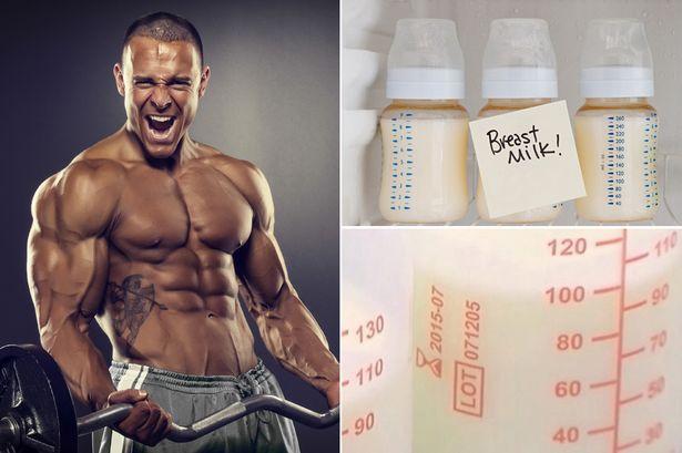 Чтобы увеличить объем мышц и массу, культуристы стали пить грудное молоко