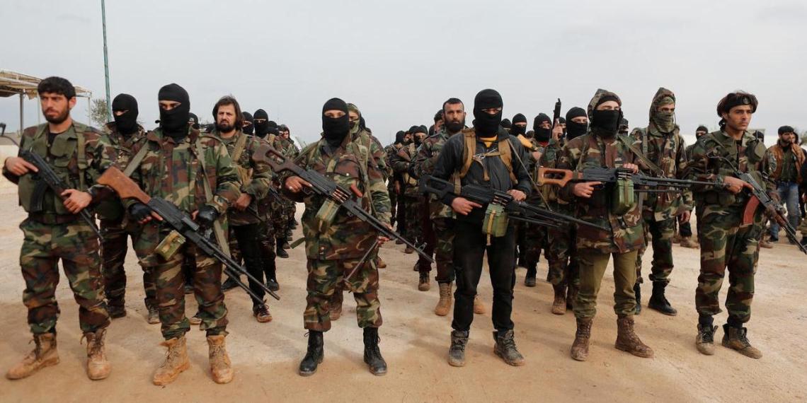Курды заявили о планах Турции перебросить сирийских боевиков в Азербайджан