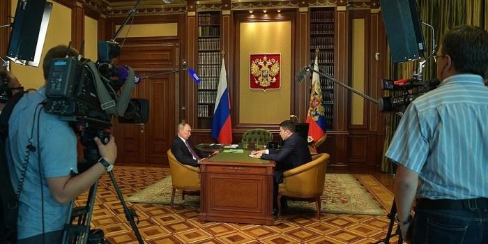 """Путин потребовал обеспечить """"транспортную доступность"""" Калининграда"""