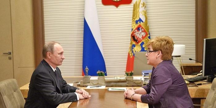 Путин потребовал письменных разъяснений от главы Забайкалья из-за недостроенных детсадов