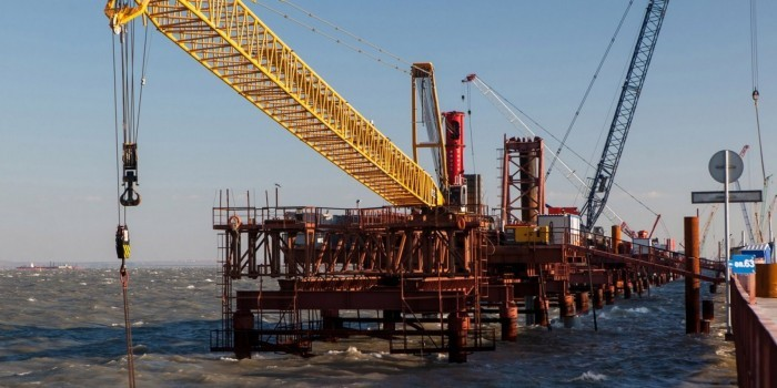 В районе строительства Керченского моста нашли клад с пиастрами