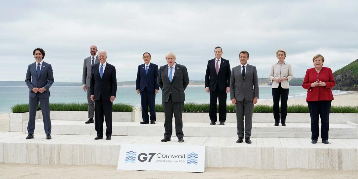 Китай возмутился клеветой со стороны стран G7