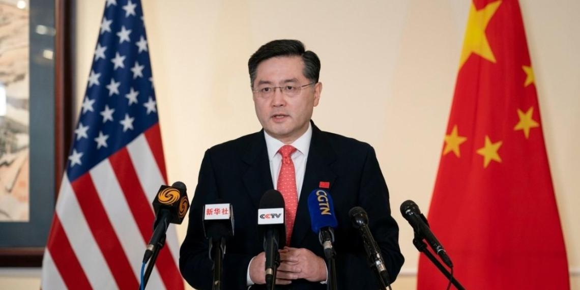"""Посол Китая потребовал от США """"заткнуться"""""""