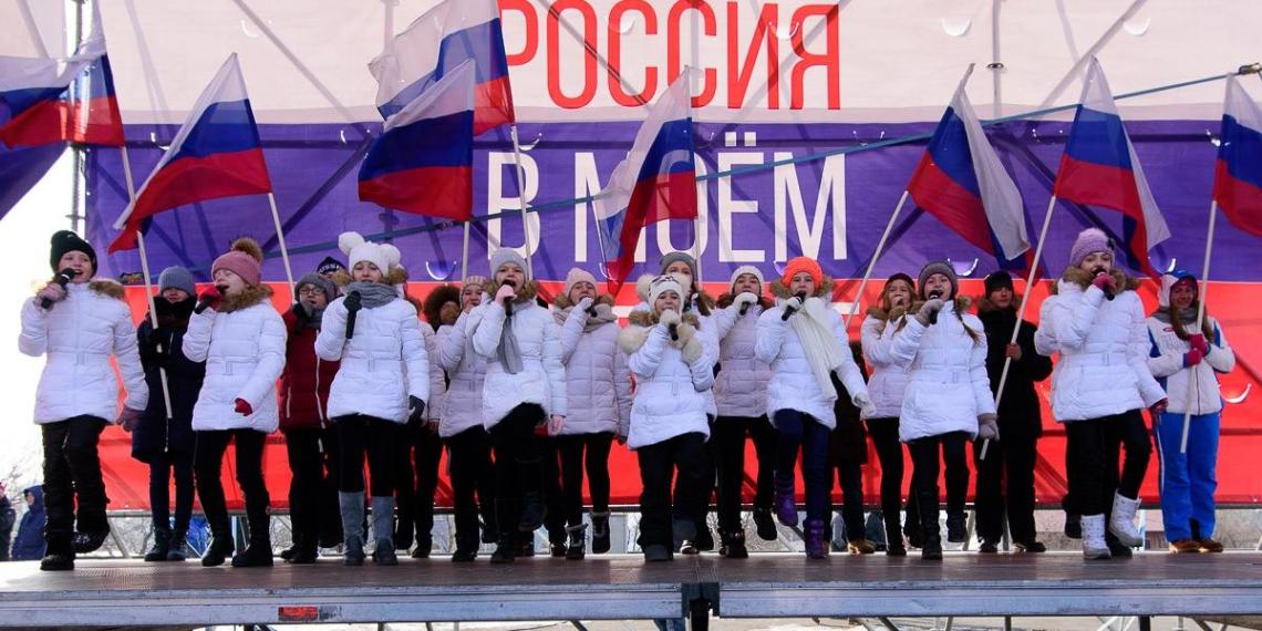 На Дальнем Востоке прошли патриотические акции в поддержку российских олимпийцев