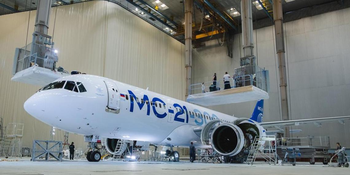 Выход лайнера МС-21 на рынок откладывается из-за санкций