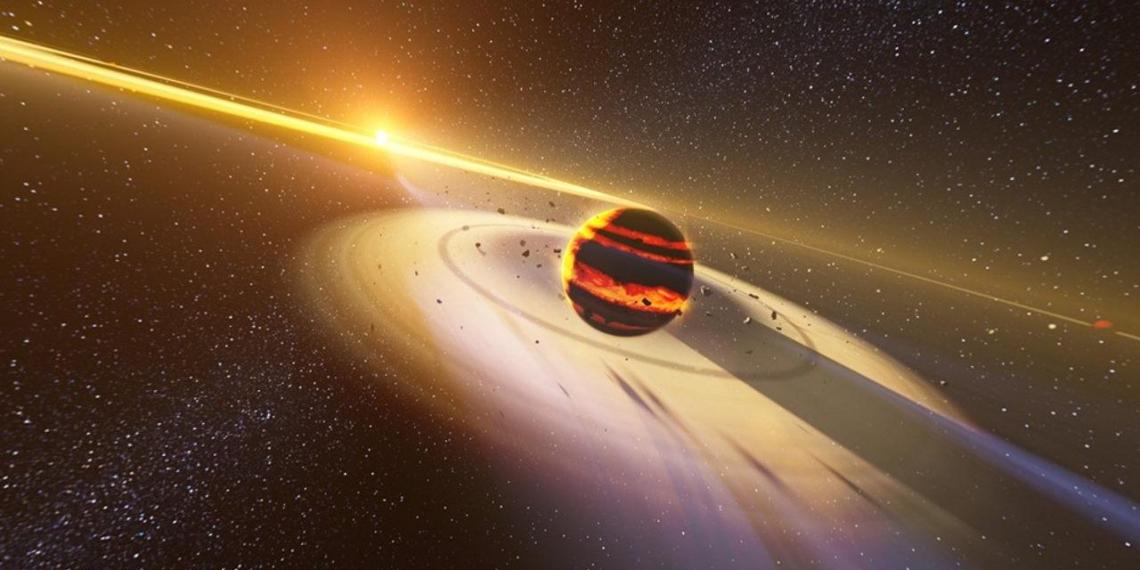Ученые обнаружили редкую планету с чистой атмосферой