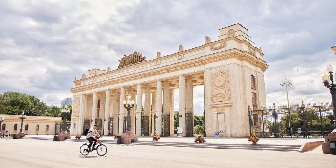 Собянин показал, как изменился парк Горького за 10 лет